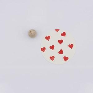 Perlenfischer stempel mini hartjes | De Kroonluchter