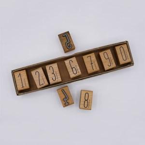 Stempel set getallen | De Kroonluchter