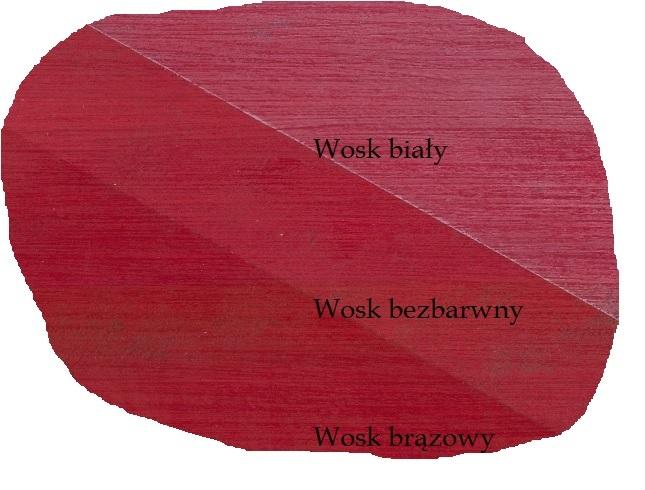 farba kredowa Vintage passion red wosk