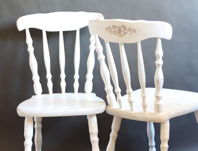 farby kredowe krzesło