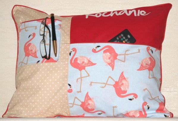 Poduszka we flamingi