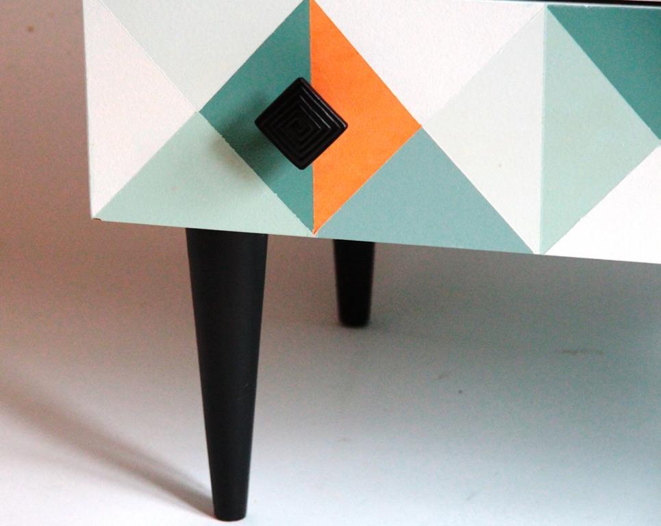 komoda PRL, odnawianie mebli, farba kredowa