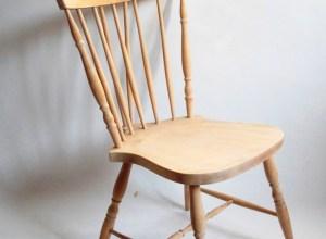 krzesło patyczak PRL King Edward