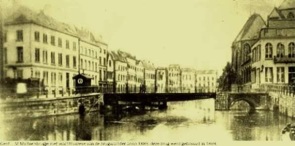St.-Michielsbrug 1889 - Roland de Smet - Fb