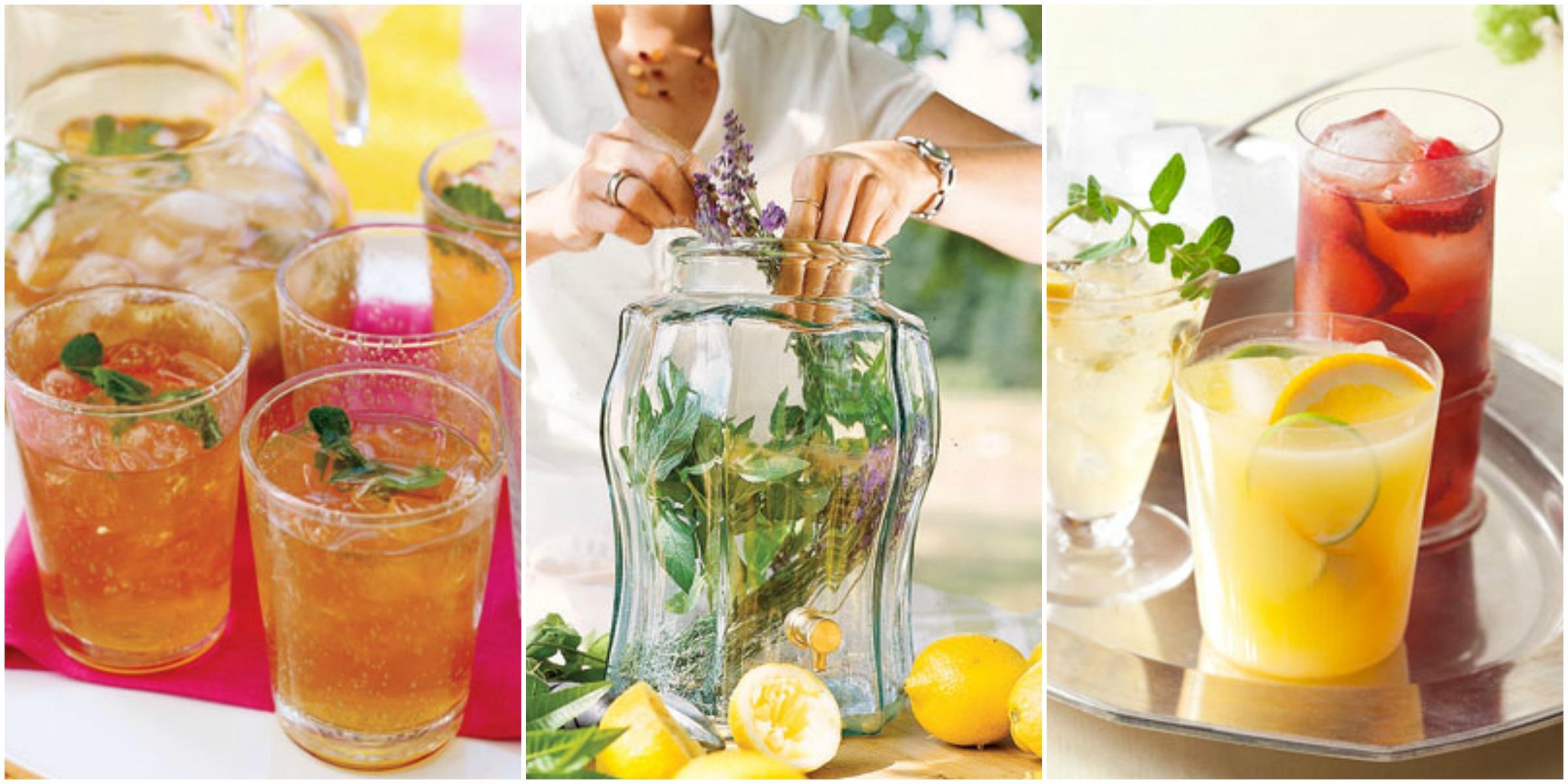 Iced Tea Recipes  Homemade Iced Tea