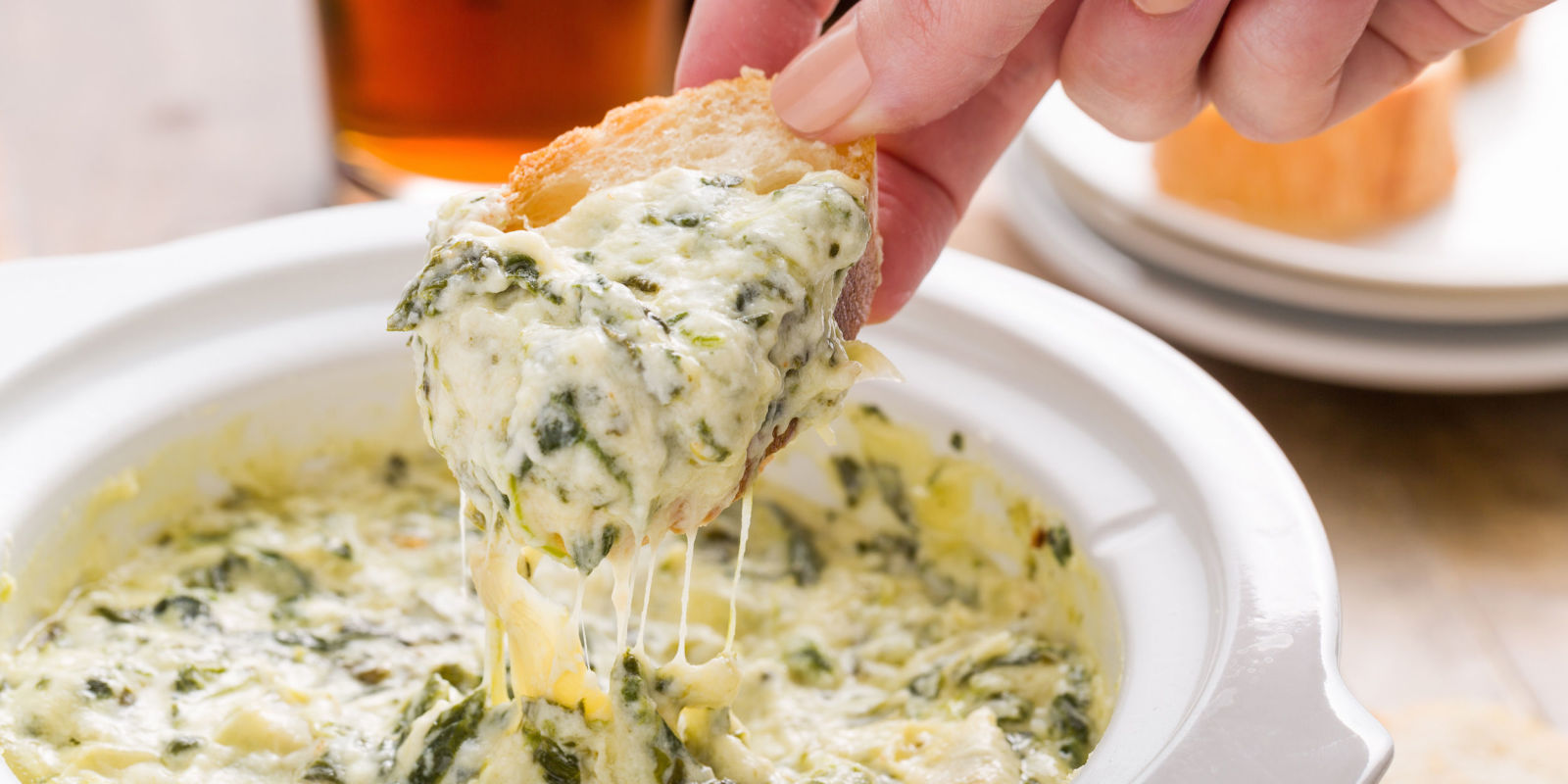 best greek yogurt spinach artichoke dip recipe how to make