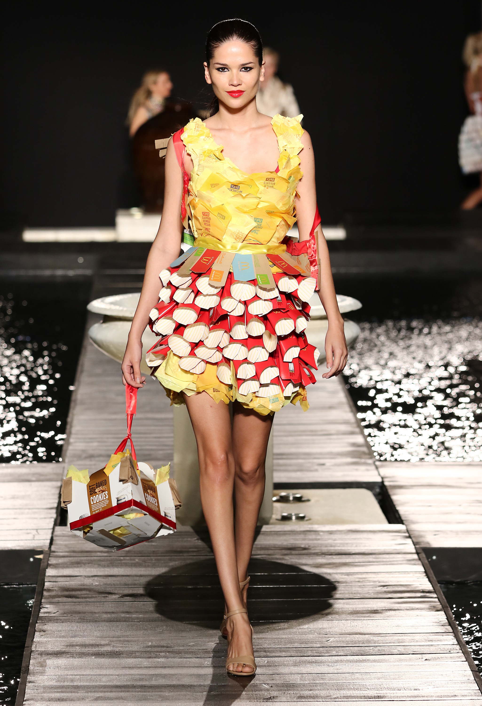 McDonalds Debuts a Fashion Line Made Out Of Its Trash