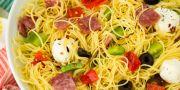 easy italian angel hair salad recipe