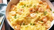 garlicky lemon shrimp