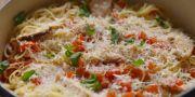 bruschetta chicken pasta recipe