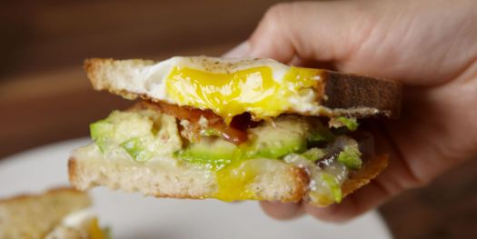 Egg-in-a-Hole-Breakfast-Sandwich