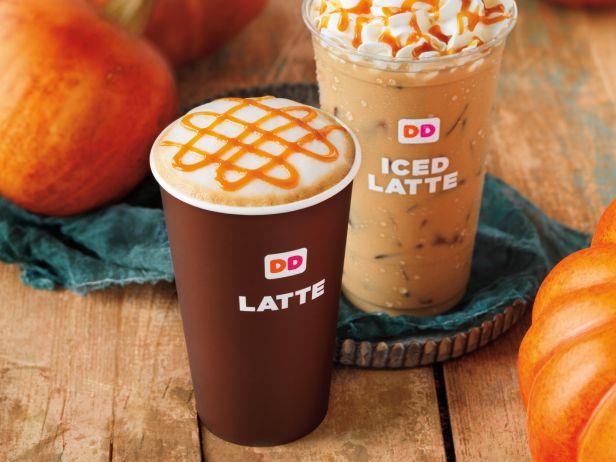 Image result for dunkin donuts pumpkin latte