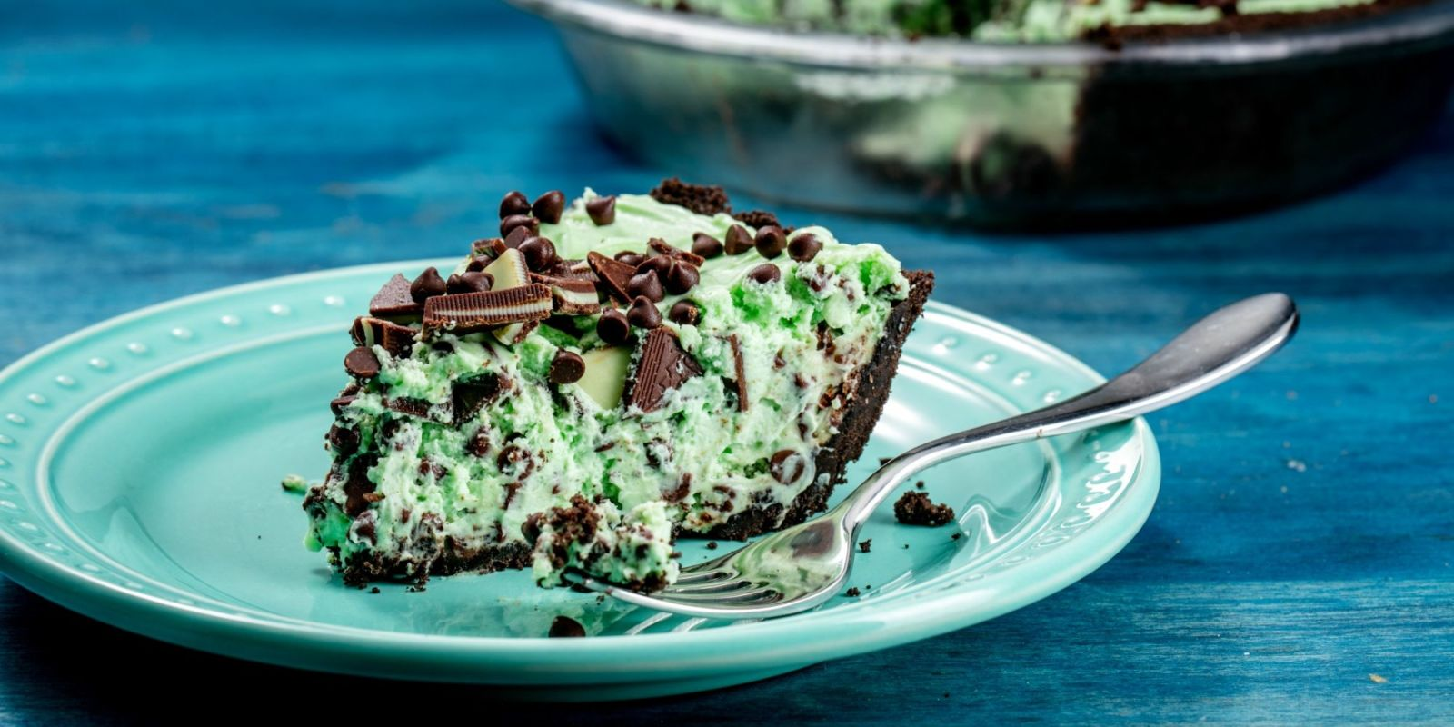 Best Mint Chocolate Chip Pie Recipe  How To Make Mint