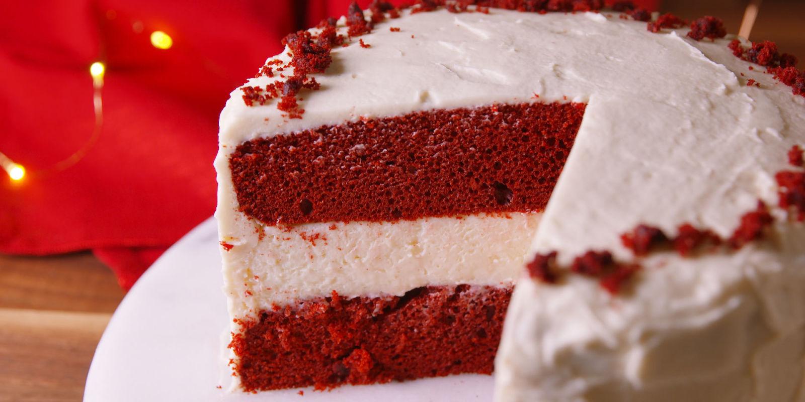 Best Red Velvet Cheesecake Cake Recipe