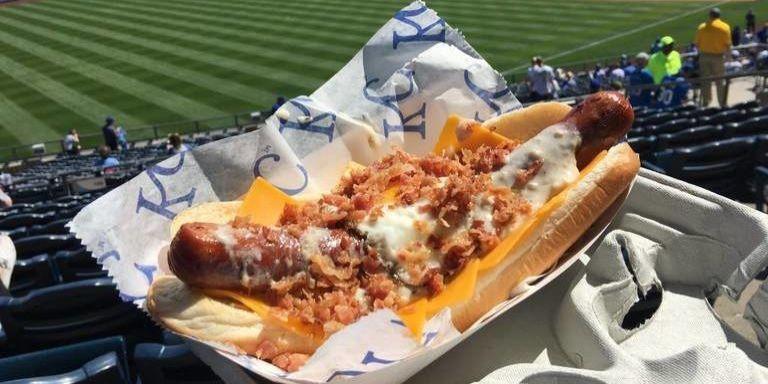 22 Best Ballpark Hot Dogs  Baseball Stadium Hot Dogs