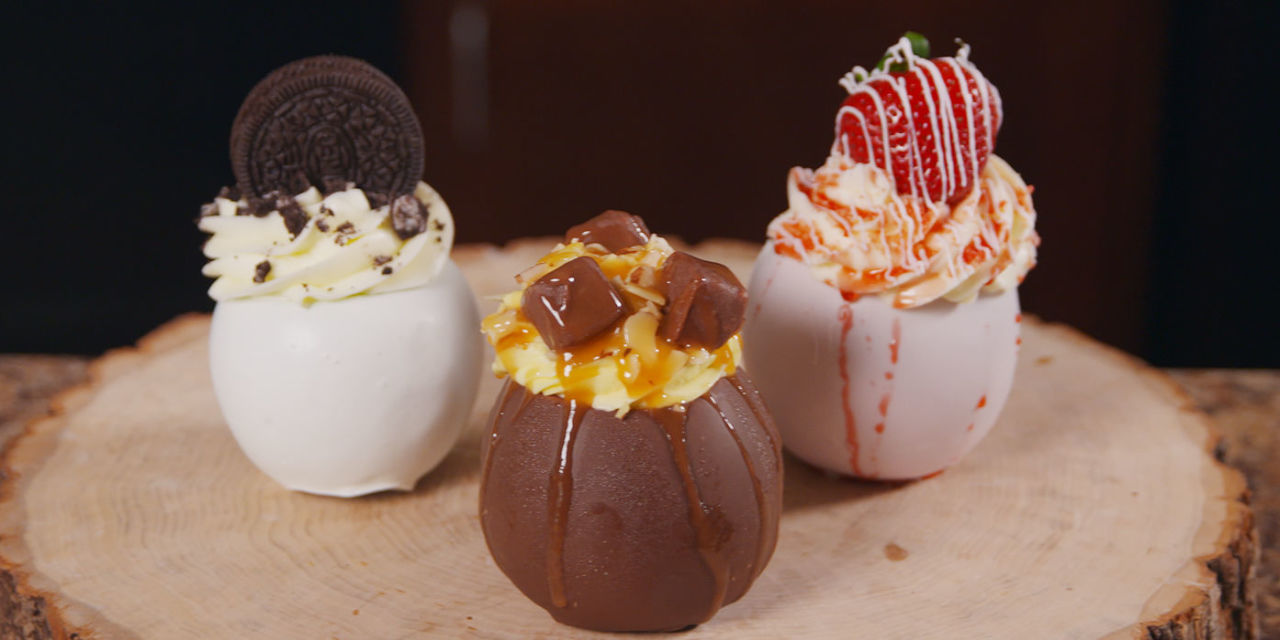 This Incredible Chocolate Covered Apple Is Stuffed With