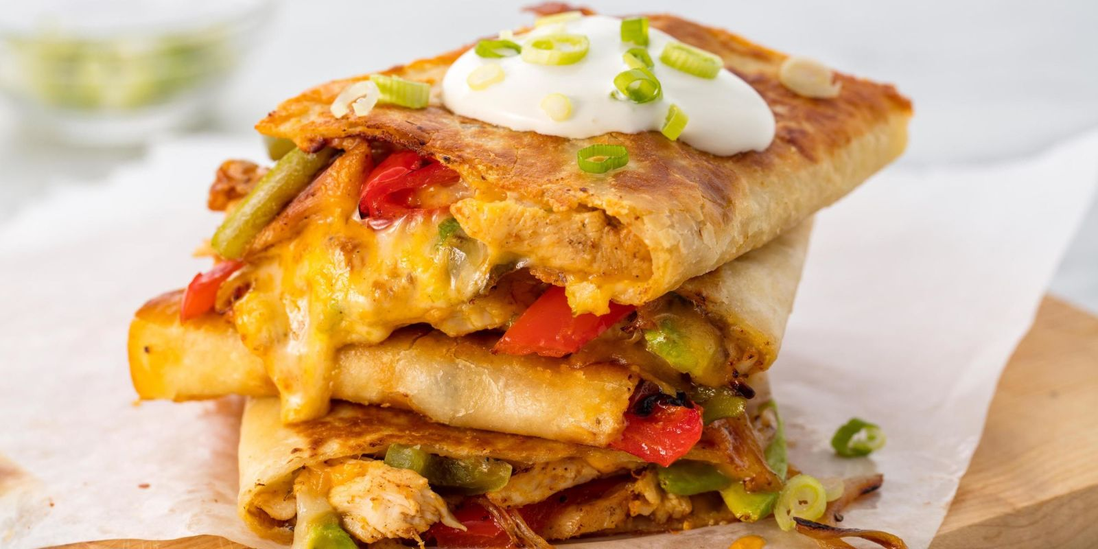 Easy Chicken Quesadilla Recipe  How to Make Best Chicken Quesadillas