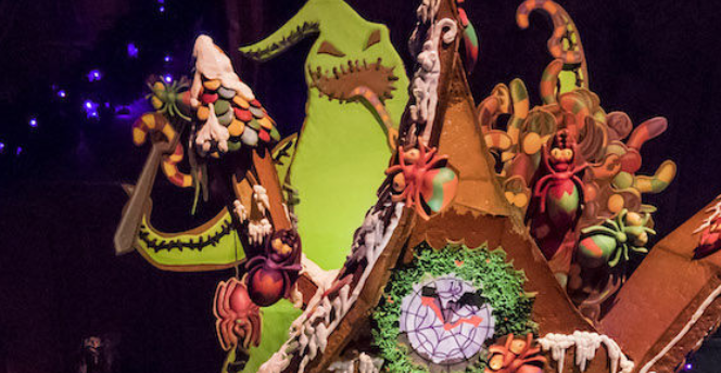 Disneys Nightmare Before Christmas Gingerbread House