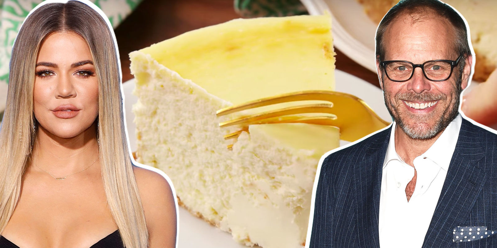 Khlo 233 Kardashian Vs Alton Brown Whose Cheesecake Is Better