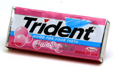 Gum Sales on the Decline  Americans Not Consuming As Much Chewing Gum