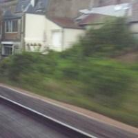 Ma vitre de train