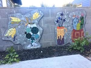 Mosaic Garden Apts Planters