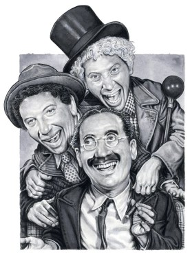 168dcf6ae50d5b11aa9a246536e3505a--celebrity-drawings-groucho-marx