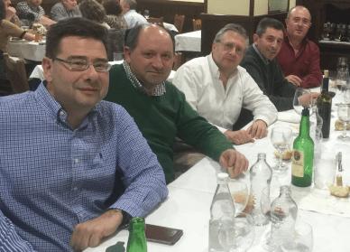 CUATRO PIRATAS: JAVI, CARLOS, BUSTINOS, HUMBERTO Y ÁNGEL