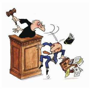 juez cabreado