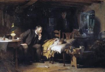 cuadro Luke Fildes