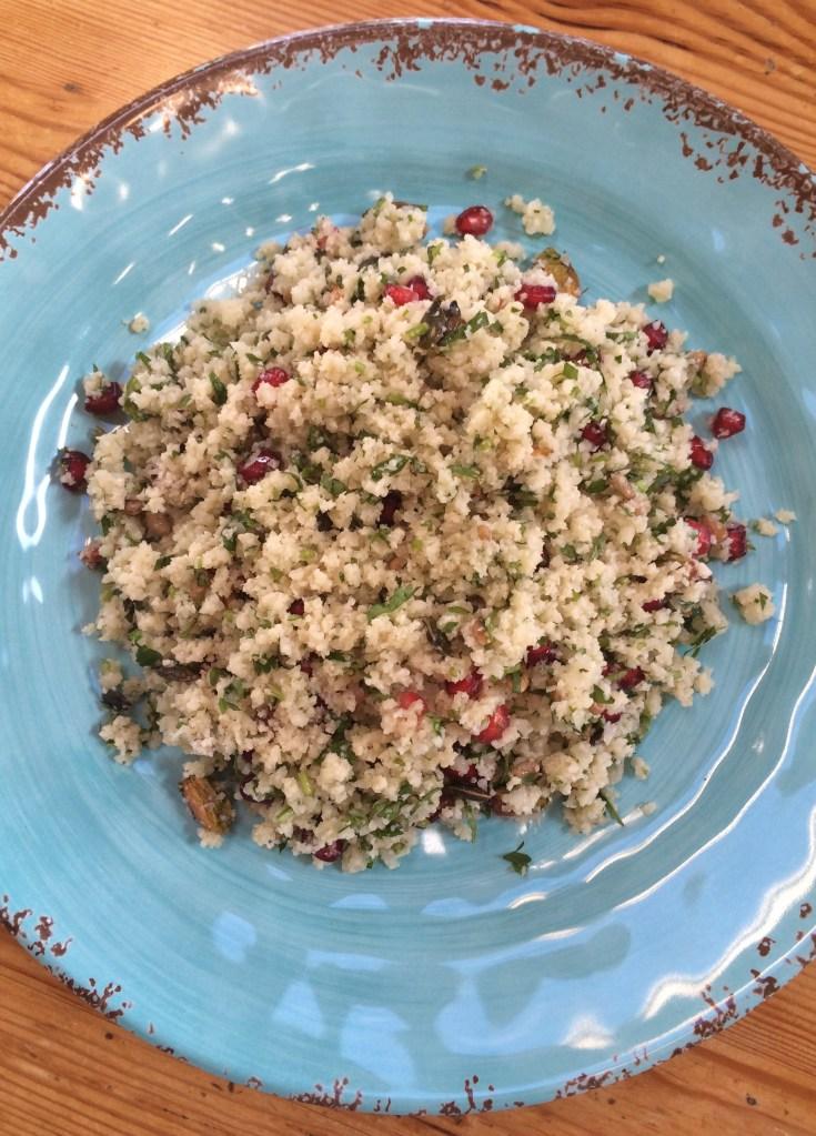 Cauliflower Tabbouleh; Delalicious