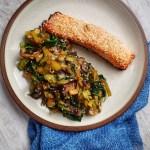 Sesame Salmon & Greens; Delalicious; Sinead Delahunty