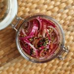 Quick Easy Red Onion Pickle; Delalicious; Sinead Delahunty