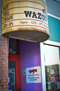Noor's apartment is above Wazoo Records on State Street.