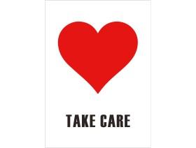 Wenskaart Take Care