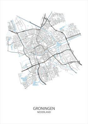 Stadsposter Groningen