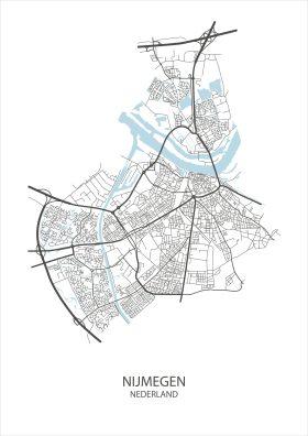 Stadsposter Nijmegen