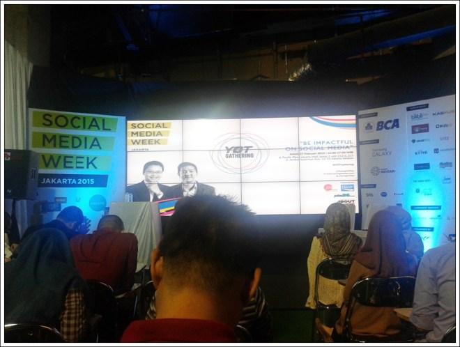 Social Media Week Jakarta stage