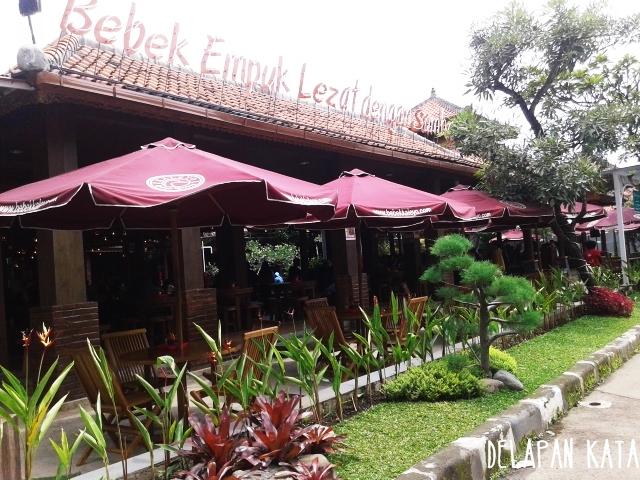 Arena outdoornya Bebek Kaleyo Bandung. (Dok. Pribadi)