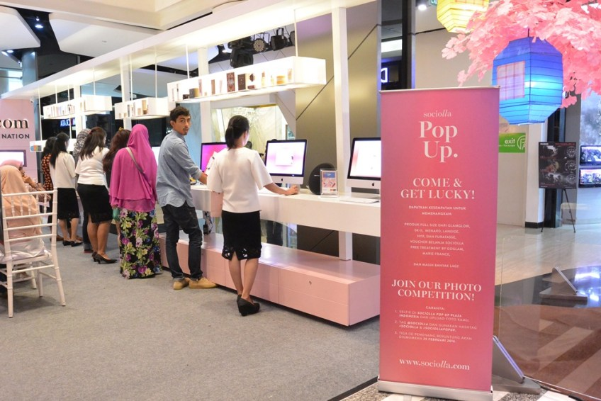 Sociolla Pop Up Plaza Indonesia