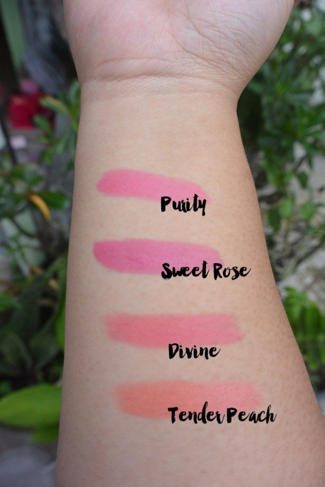 Sulamit Moist Lipstick Passion Series Swatches DelapanKata PutriKPM