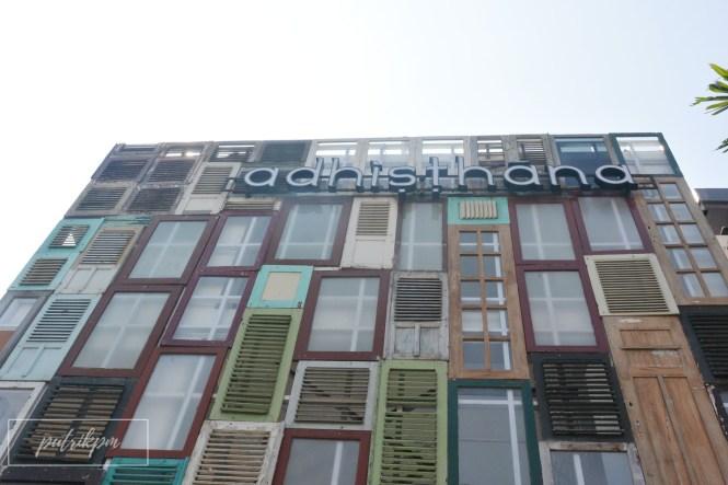 Adhisthana Hotel (front view)- Delapankata