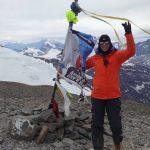 Vecina Radatilense hizo cumbre en cerro de 5424 mts en Chile