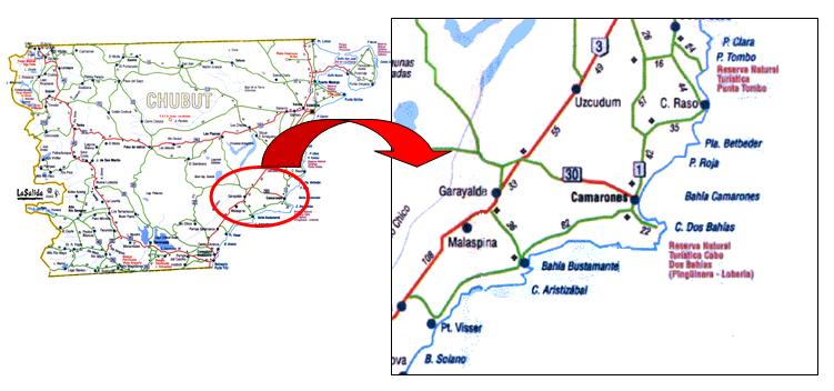 Mapa de Camaronres
