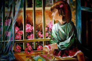 New Beginnings-Oil Painting