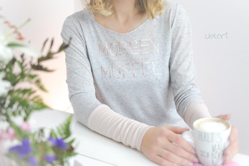 Morgenmuffel - Plotterdatei - Pajama - DIY -delari