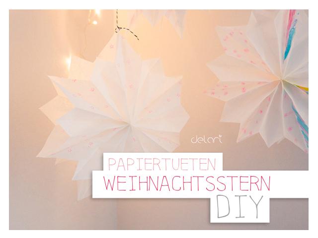 Brottüten-Weihnachtsstern-DIY
