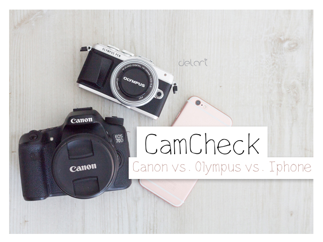 CamCheck – Canon vs. Olympus vs. Iphone