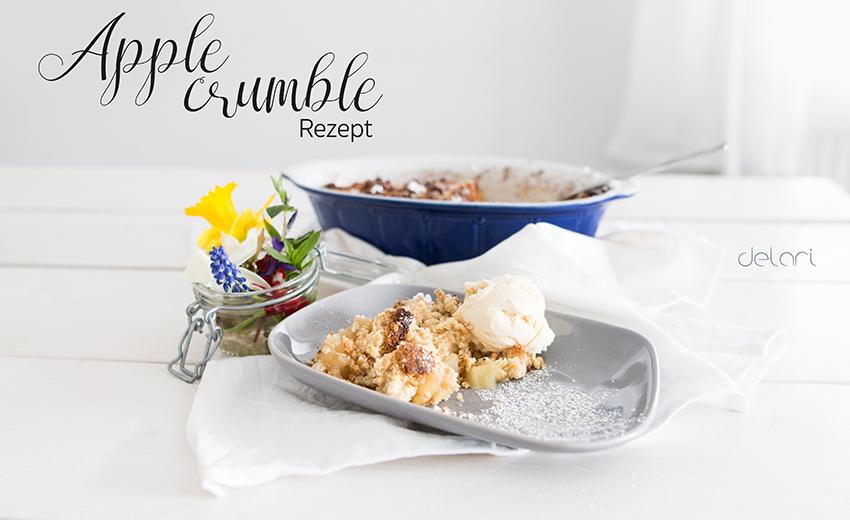 Kuchen backen Apfelstrudel Bloggerrezept Trendkuchen