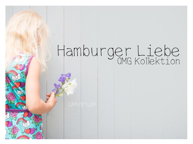Hamburger Liebe OMG Kollektion – schnelles Strandkleid für Kinder